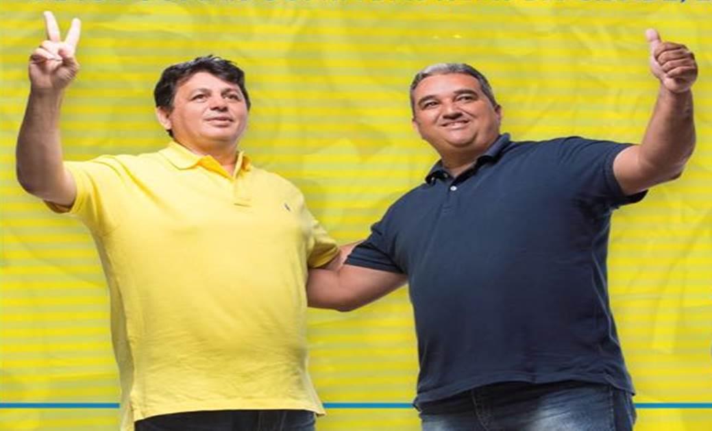 Resultado de imagem para prefeito e vice-prefeito de João Câmara:Mauricio CaetanoeHolderlin Silva,