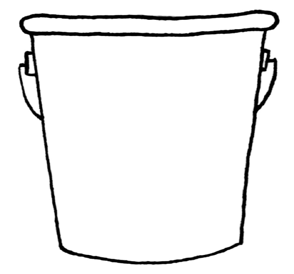 shovel and pail sand bucket