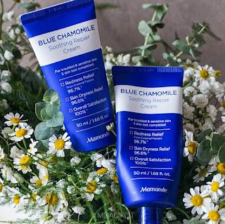 Mamonde Blue Chamomile Soothing Repair Cream