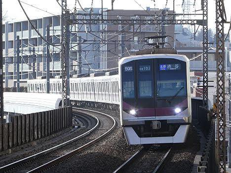 【ダイヤ改正でほぼ廃止!】各停 渋谷行き 東京メトロ08系