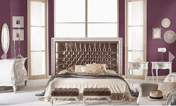 purple and brown bedroom decorating ideas 10 id 233 es vibrantes de chambre pourpre d 233 cor de maison 20777
