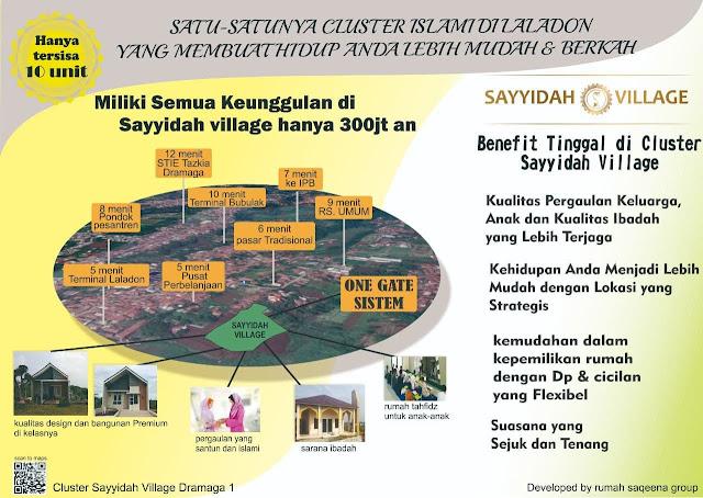 Sayyidah Village Dramaga bogor