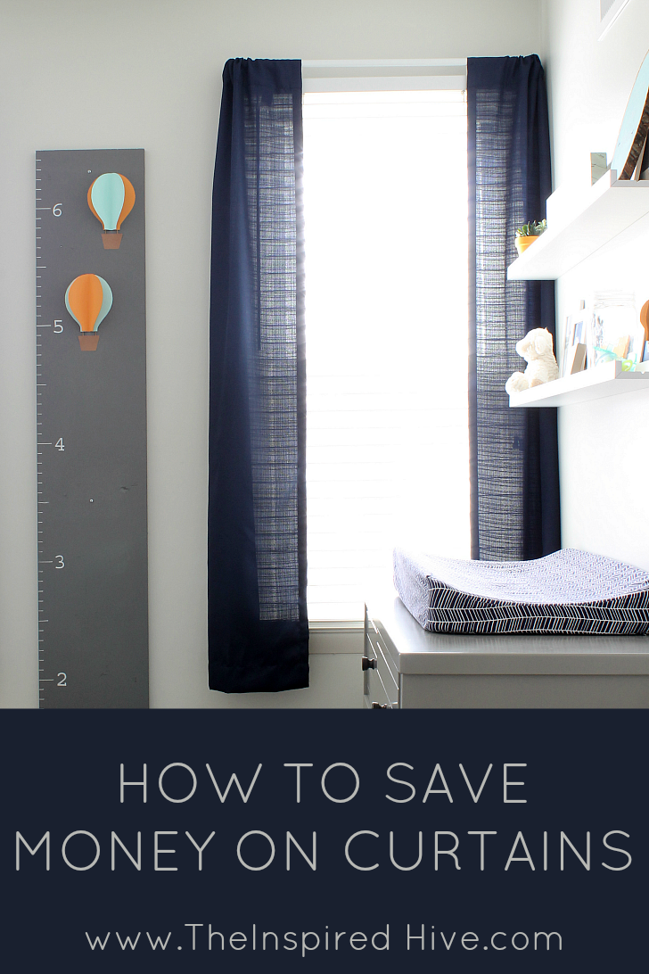 How to save money on curtains