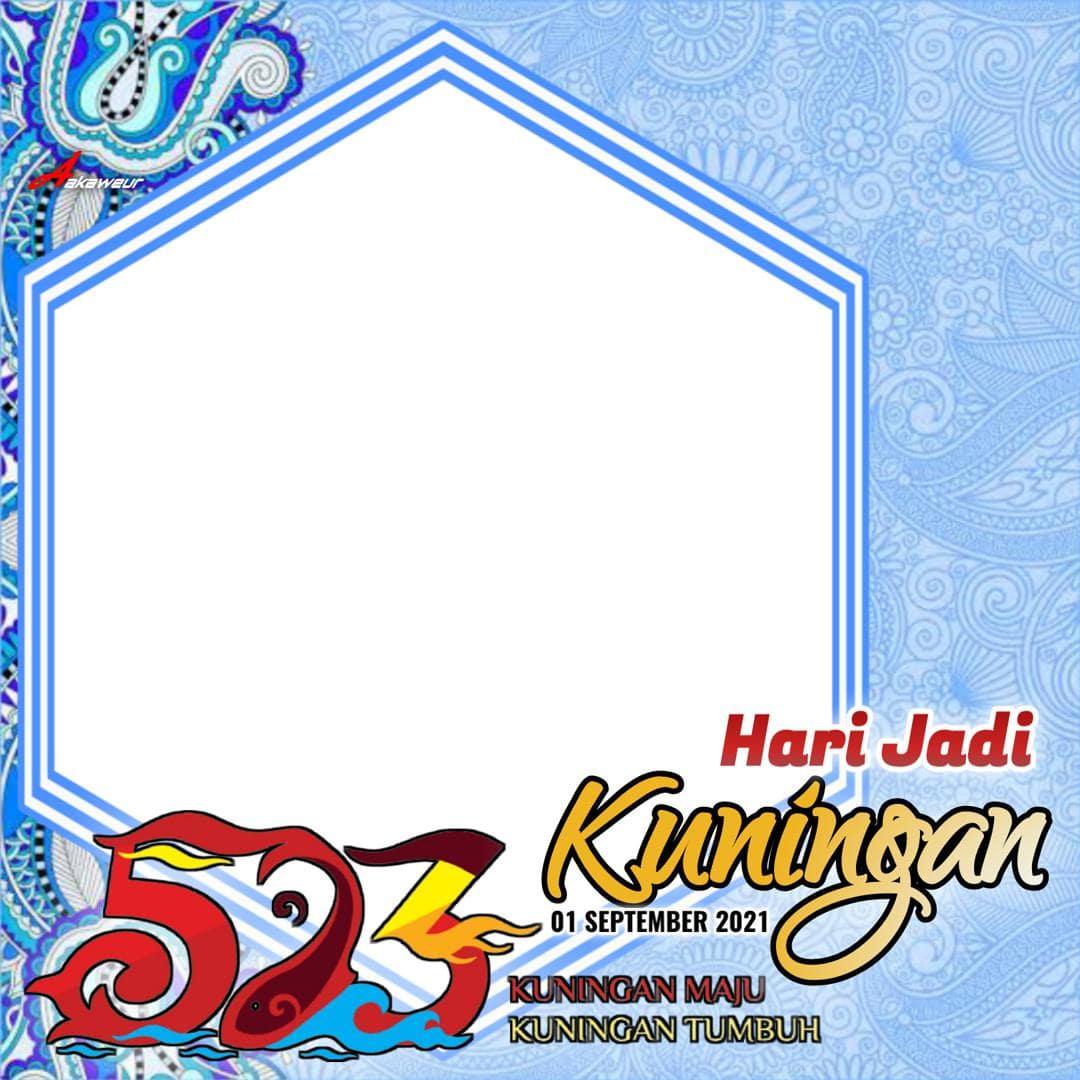 Bingkai Foto Twibbon HUT ke-523 Kabupaten Kuningan 2021