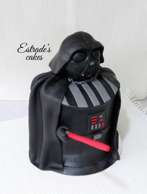 tarta de Darth Vader 6