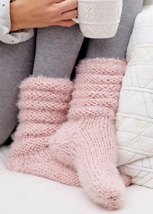 Slouchy Socks - Free Pattern
