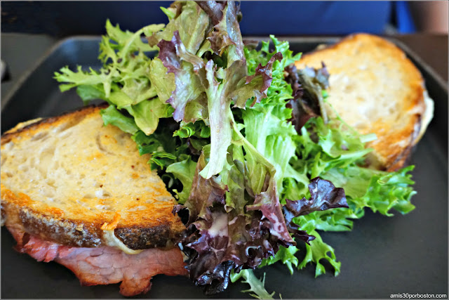 Dine Out  Bistro Du Midi: Croque Monsieur, black forest ham, mornay, gruyère