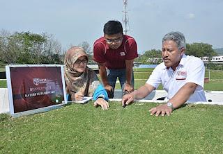 grass rumput malaysia golf training