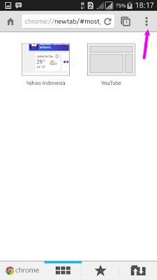 Cara menghapus cache di Chrome