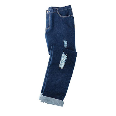 Shop mark. I'm So Torn Boyfriend Jeans $42.00