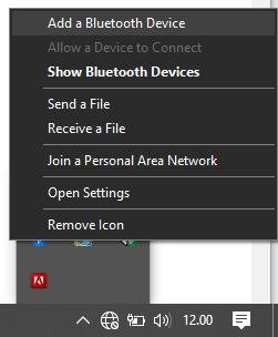 Cara menyambungkan hp ke laptop via bluetooth