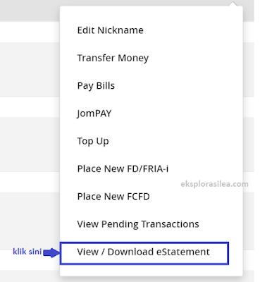 estatement bank download