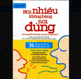 Nói Nhiều Không Bằng Nói Đúng ebook PDF-EPUB-AWZ3-PRC-MOBI