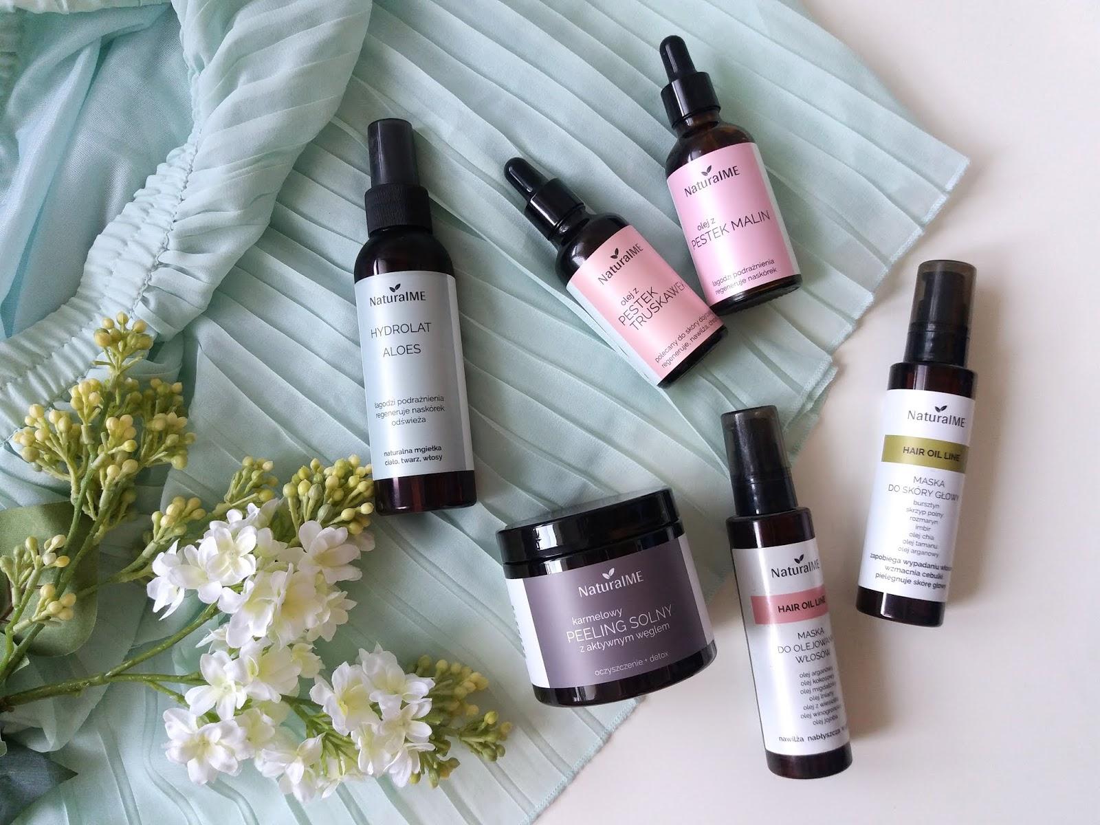 Przygotowanie skóry i włosów do lata z marką NaturalME