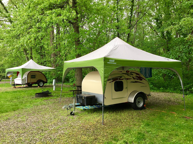 Tiny Trailer Camping, Teardrop Trailers