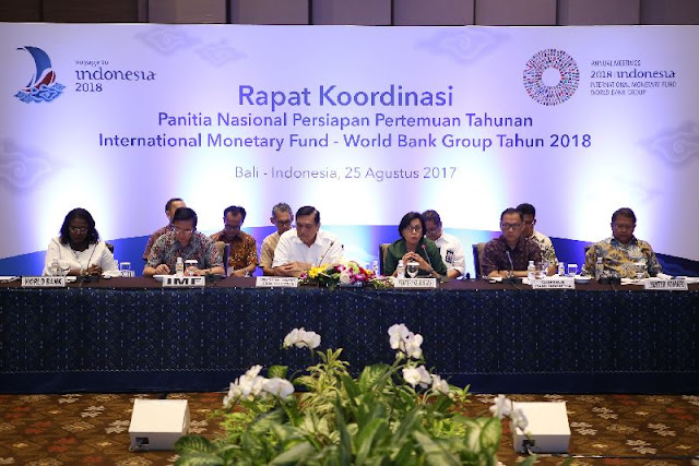 Annual Meeting IMF World Bank 2018 di Bali Diyakini Akan Ciptakan Perputaran Ekonomi yang Besar