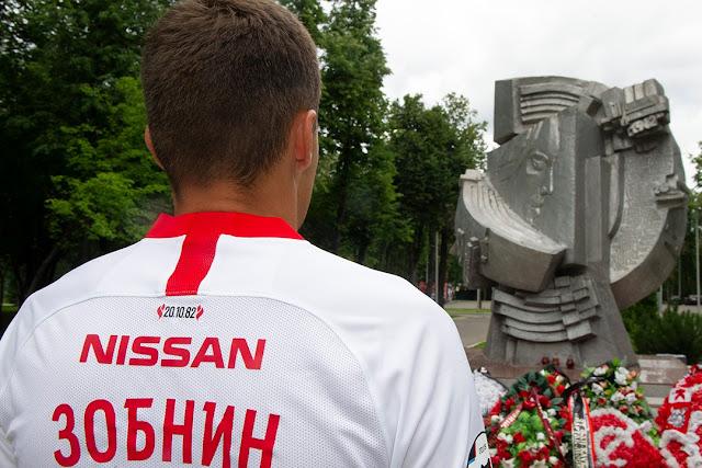 «Спартак» разместил на форме знак в память о трагедии 1982 года в «Лужниках»