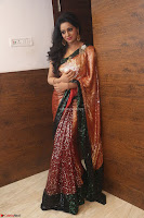 Udaya Bhanu lookssizzling in a Saree Choli at Gautam Nanda music launchi ~ Exclusive Celebrities Galleries 098.JPG
