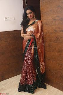 Udaya Bhanu lookssizzling in a Saree Choli at Gautam Nanda music launchi ~ Exclusive Celebrities Galleries 098.JPG