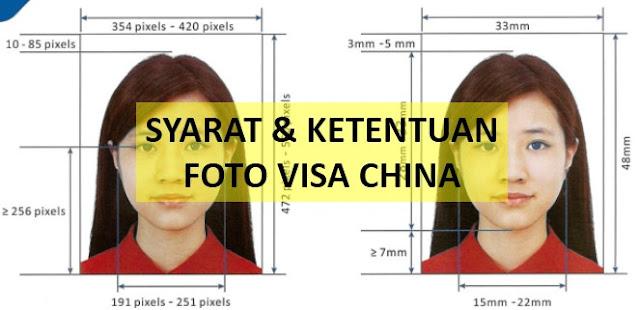 FOTO VISA CHINA