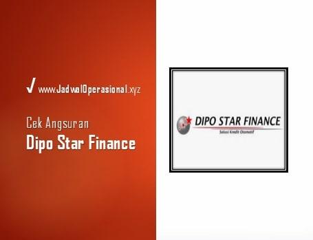 Cek Angsuran Dipo Star Finance