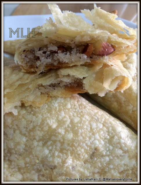 ... Puffs with Coconut Filling | Dry fruits puff pastry | Tea time Snacks