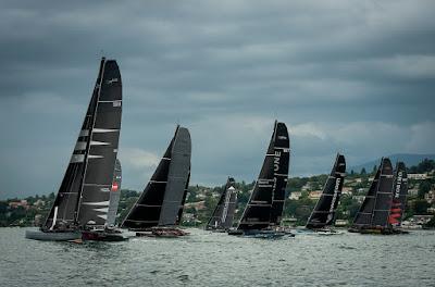 Le D35 Zen Too  vainqueur de l'Open du Yacht-Club de Genève