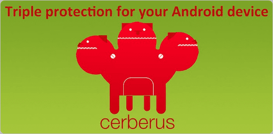 cerberus android tracking app