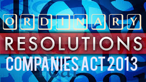 Ordinary-Resolutions-For-Companies-Act-2013