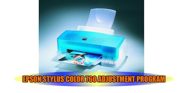 Epson Stylus Color 760 Printer Adjustment Program