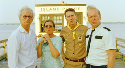 Moonrise Kingdom - Bruce Willis, Bill Murray, Edward Norton, Frances McDormand