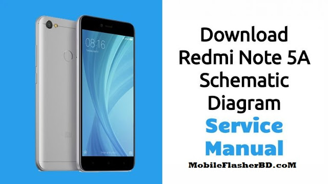 Download Redmi Note 5A Schematic Diagram – Service Manual If you are looking for Xiaomi Redmi Note 5A schematics diagram or service manual in pdf format, just scroll down to download Redmi Note 5A schematics diagram. But if you still don't know what is the schematic diagram is you can read below.  Schematic diagrams play an important role in the world of cellphone service because without schematic diagrams we are not perfect in making improvements. because the path of a smartphone PCB varies from one another.  What Is Redmi Note 5A Schematic Diagram: Schematic Diagram is a layout of symbols and connection of every electronic components circuit where serve as a guide on how the circuit function or work.  Reading Schematic Diagrams is not a hard task to do, schematic diagrams are a big help to cellphone-repair  especially when working on or tracing lines and finding where particular components mounted on a PCB board.  Such schematic diagrams is a very useful and very important guide in every cellphone technician. It is equivalent to a handbook.  Cellphone manufacturers also providing a service manual or schematic diagrams of cellphone to their authorized service centers and persons. To read and understand a cellphone schematic diagram we must have some knowledge about basic electronics like resistors, capacitors, transistors, integrated circuits, etc.  Download Redmi Note 5A Schematic Diagram