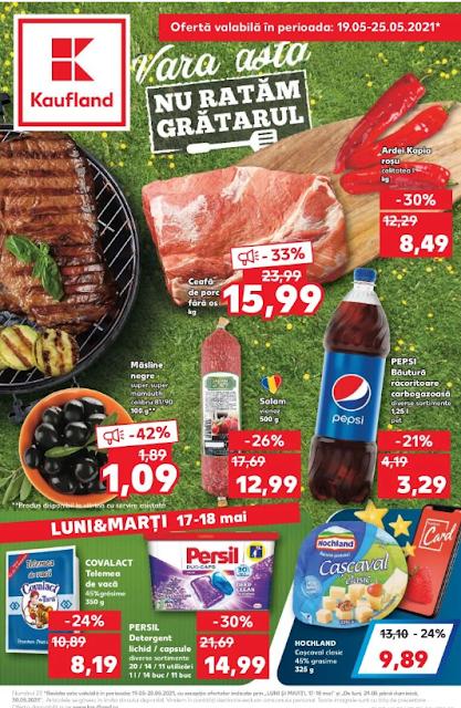 Kaufland Promotii + Catalog-Brosura 19-25.05 2021 → FRESH | TOMBOLA Digital Kaufland Card