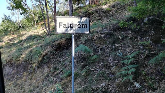 Placa da Localidade de Faldrem