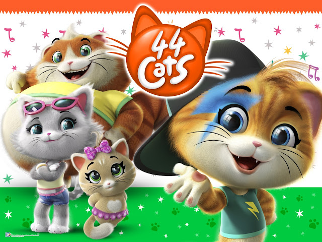 Image showing the 4 cat cartoon characters