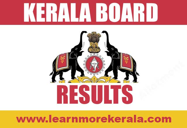 kerala sslc plus one two allotment results 2018