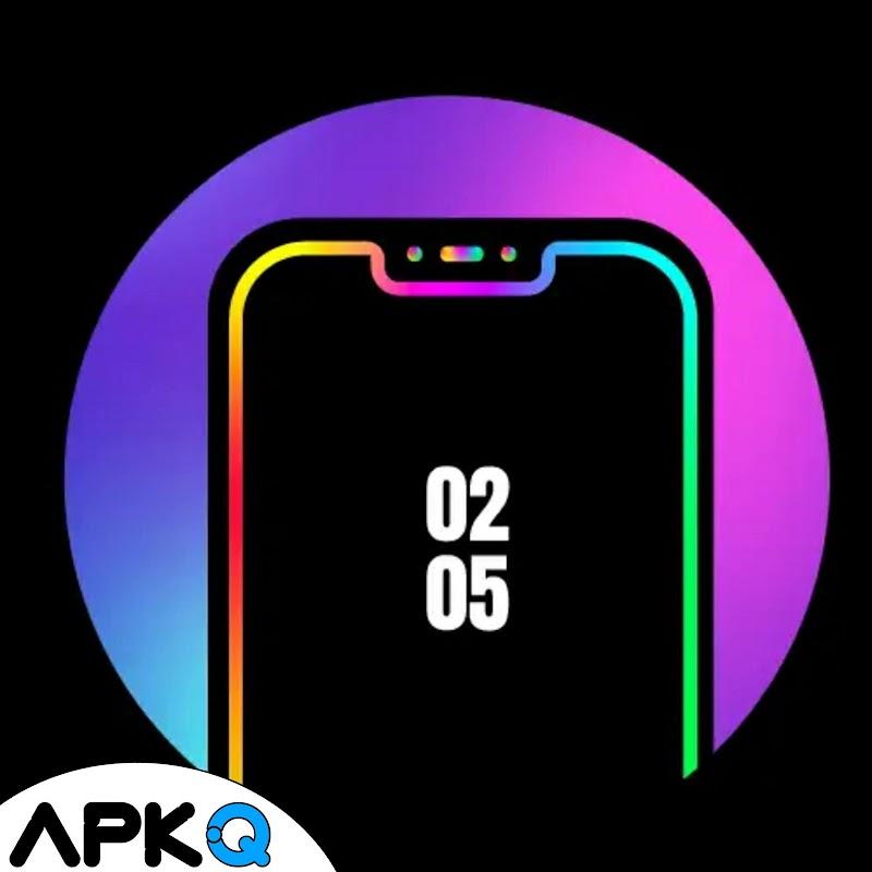 تحميل تطبيق اضائة حواف الشاشة - Edge Lighting Colors - Round Colors Galaxy للاندرويد والايفون