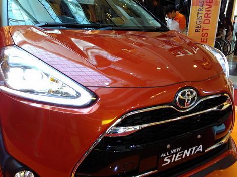 Spesifikasi dan Harga Toyota Sienta Indonesia