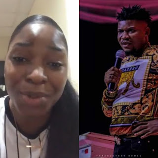 VIDEO: Lady call out the convener of FACE OF NAESIM, Femi K.- Said he asked her to sleep with a supposed sponsor