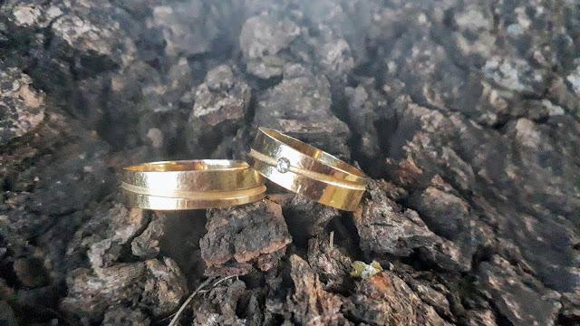 Personalize suas alianças de ouro, com garantia vitalícia, sem gastar muito