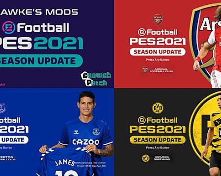 PES 2021 Team Graphic Menu Mod