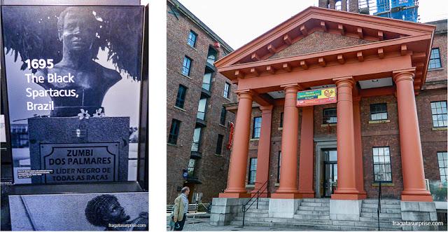 Museu da Escravidão de Liverpool e homenagem a Zumbi dos Palmares