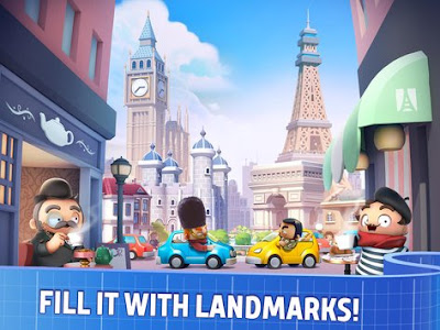 City Mania Town Building mod apk full terbaru