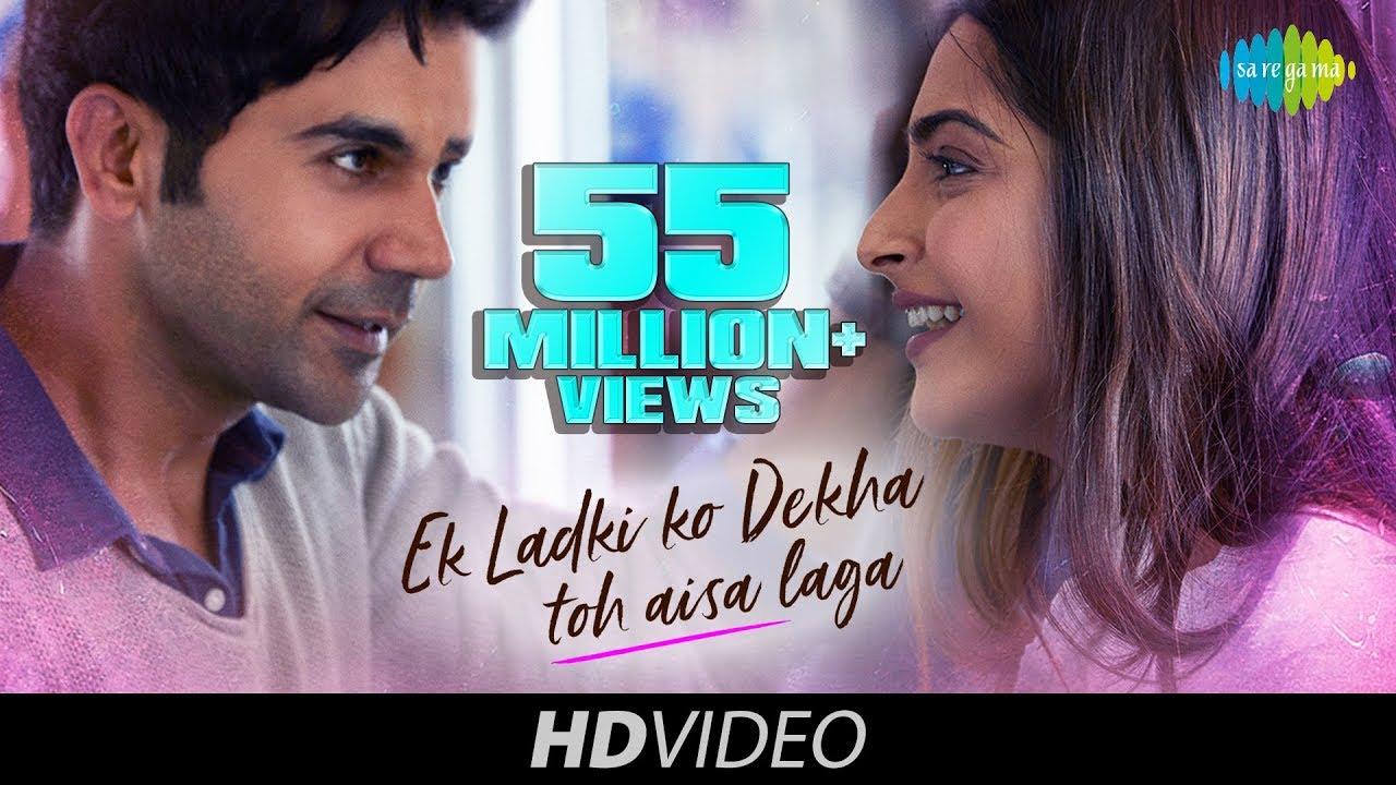 Ek Ladki Ko Dekha Lyrics in Hindi