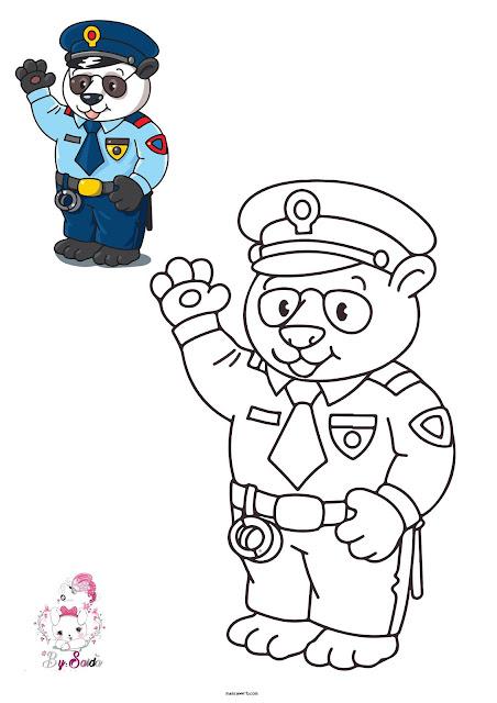 رسومات تلوين للاطفال جديدة 1