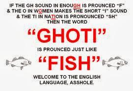 English Language Oddities Part I