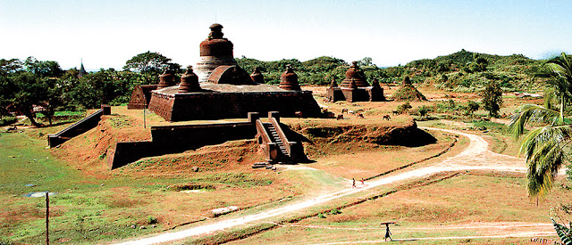 Mrauk U photography
