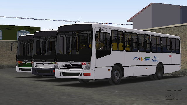 OMSI 2 - Ciferal Citmax MB OF-1418 e VW 15.180 EOD