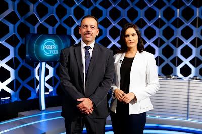 General Richard e Débora (Crédito: Gabriel Cardoso/SBT)