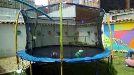 alquiler de trampolines para fiestas